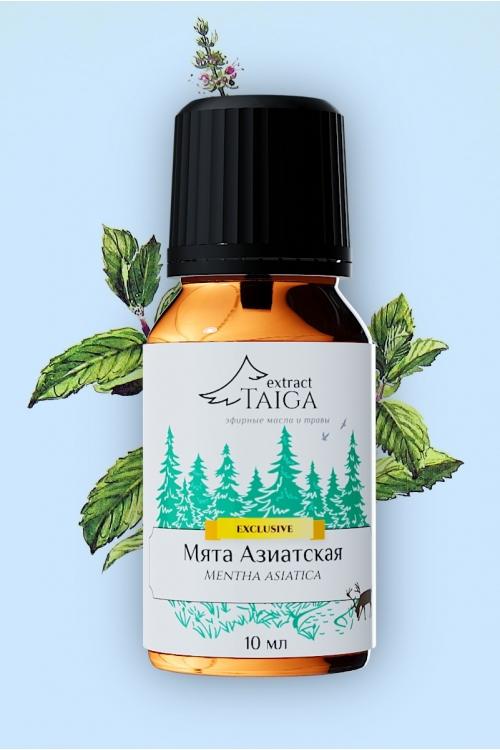 Эфирное масло Мяты азиатской (Mentha Asiatica) 10 мл