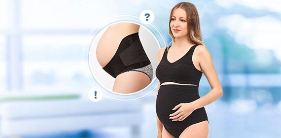 Зачем нужно носить бандаж для беременных?