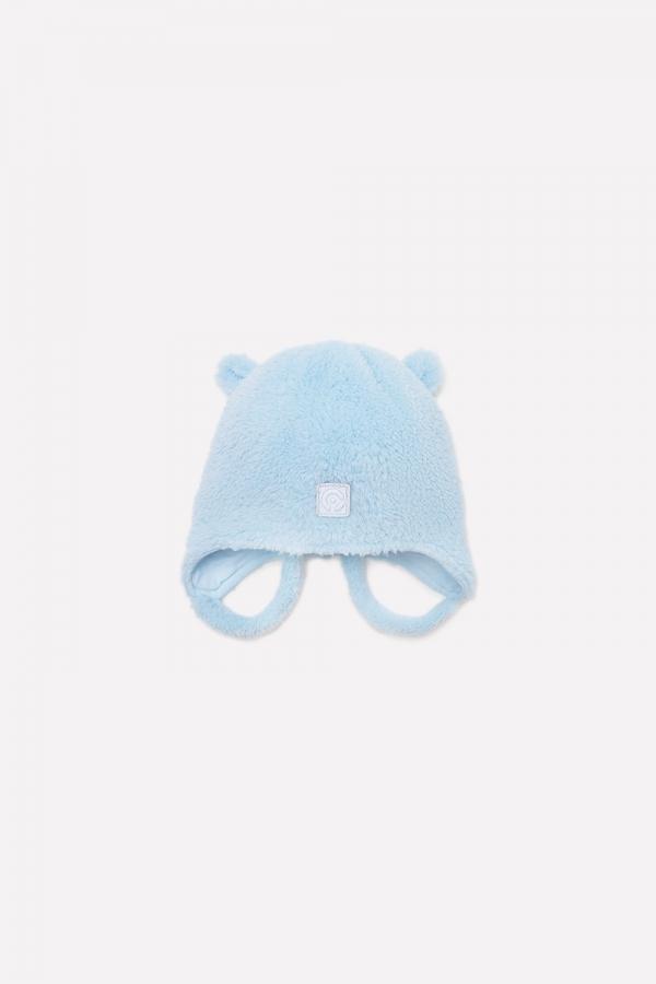 ФЛ 80009/2  ГР Шапка детская  для мальчика голубая