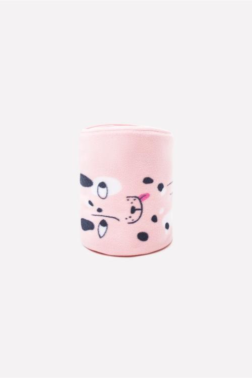 ФЛ 85000/н/25 РР Плед детский собачки на розовом