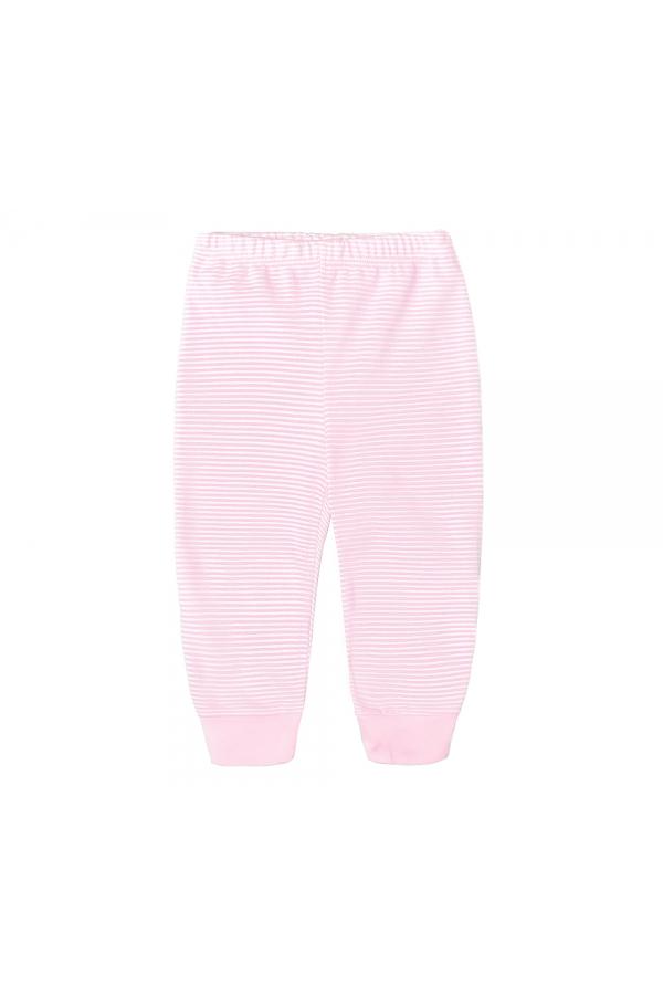К 4072 Брюки для девочки нежно розовая полоска