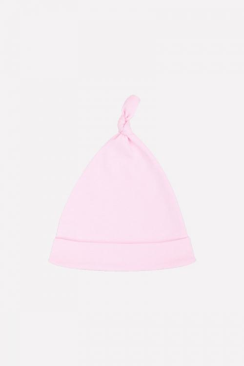 К 8036 Шапка детская для девочки розовое облако пони