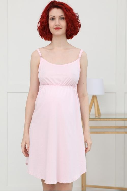 П01504К Комплект  для беременных и кормящих серый/розовый