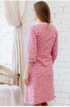 П01504К Комплект женский для беременных и кормящих темно-розовый/розовый