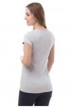 1-125505А Майка для беременных и кормящих светло-серый