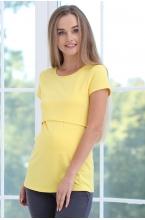 1-125505А Майка для беременных и кормящих ярко-жёлтый