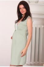 П16504 Сорочка женская для беременных и кормящих фисташковый