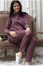 2-256505К Костюм для беременных и кормящих женщин пурпурный
