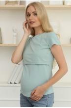 7ДМ207-31102 Футболка для беременных и кормящих  фисташковый