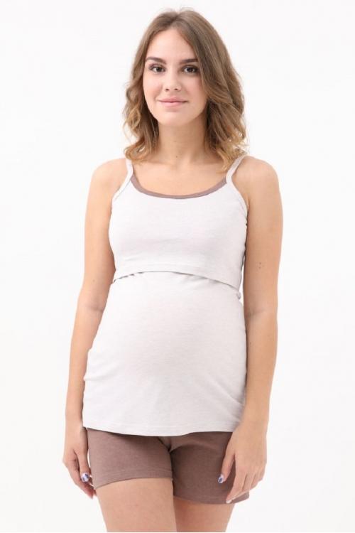 1-НМП 25228 Пижама женская для беременных и кормящих
