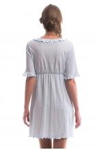 436611.395Д Комплект для роддома ((халат+сорочка)