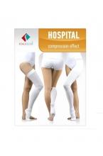 ELAST 0403 Hospital Чулки медицинские эластичные компрессионные белые
