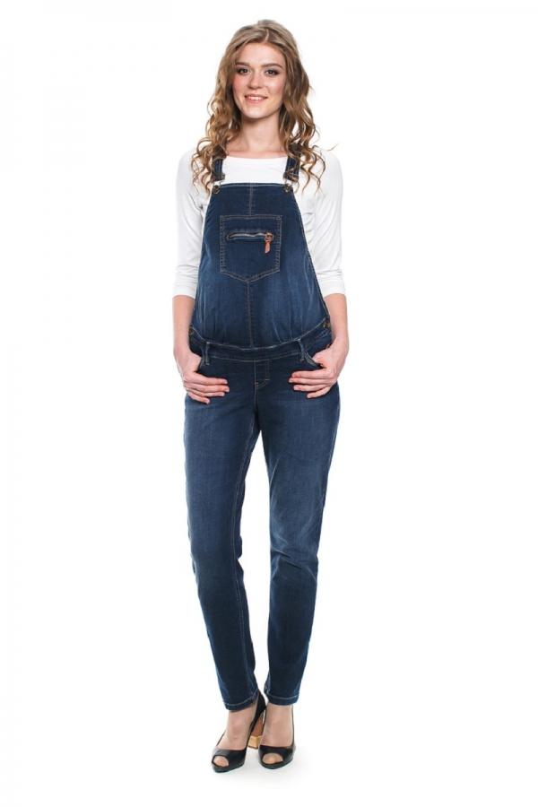 1043.5824 Полукомбинезон джинсовый синий