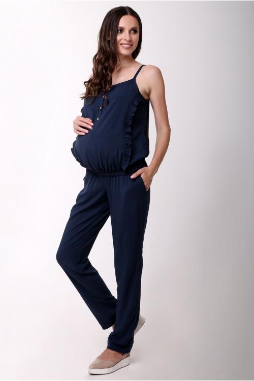 2927.088 Полукомбинезон для беременных  темно-синий