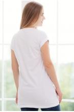 1-146504А Джемпер для беременных женщин белый