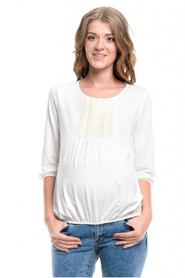 7603.1781 Блузка для беременных с тесьмой