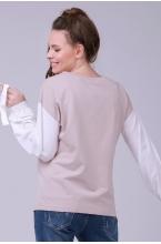 7758.4168 Блуза трикотажная прямого силуэта