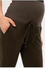 1-153541 Брюки для беременных женщин хаки