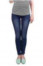 2665.0016 Брюки джинсовые зауженного силуэта синий