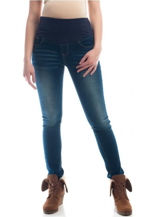 2665.0052.С Брюки джинсовые зауженного силуэта синий