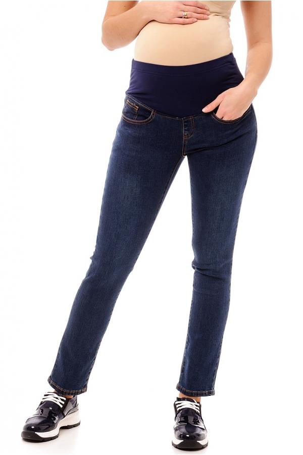 2666.0017 Брюки джинсовые зауженного силуэта синий