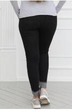 8РУ301-50104 Джинсы для беременных женщин черный