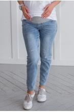 8РУ311-50104 Джинсы для беременных женщин светло-синий