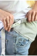 8РУnd312-50104 Джинсы для беременных женщин светло-синий