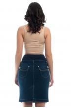 369.0002 Юбка джинсовая синий