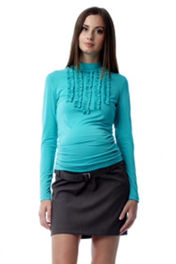 375.5435 Юбка для беременных тёмно-серый