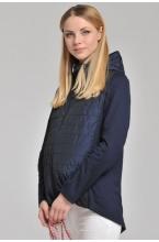 Ветровка Хлоя для беременных синий