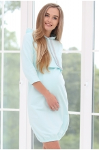 1-75505В Платье для беременных и кормящих женщин мятный