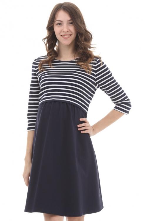 2-НМ 50014 Платье для кормления беременным женщинам
