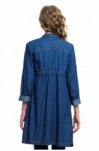 4000.1078 Джинсовое платье-рубашка