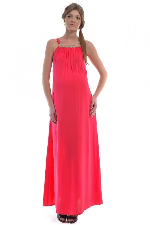 4318.4173 Платье А-силуэта коралловый