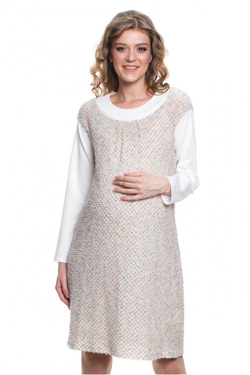 4452.3373 Платье трикотажное А-образного силуэта