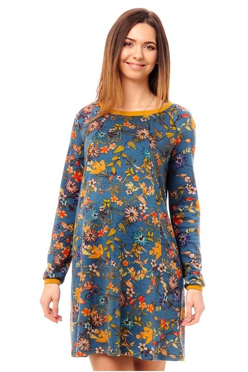 4490.4232 Платье прямого силуэта для кормления
