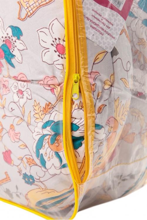 Подушка многофункциональная 3 метра для беременных и кормящих женщин (темно-розовый/серо-голубой/птицы)