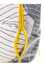 04 - Подушка многофункциональная 3 метра для беременных и кормящих женщин (серый/белый/звёзды)