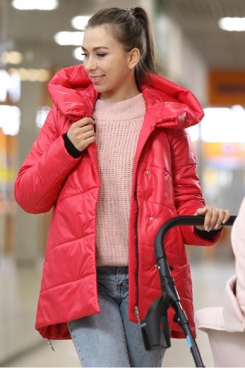 Молодежная демисезонная куртка LINDA красный