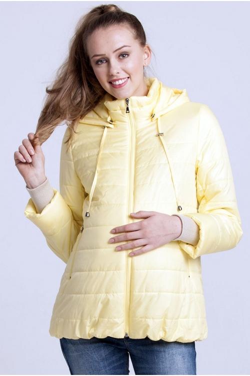 Куртка MILANA для беременных желтый