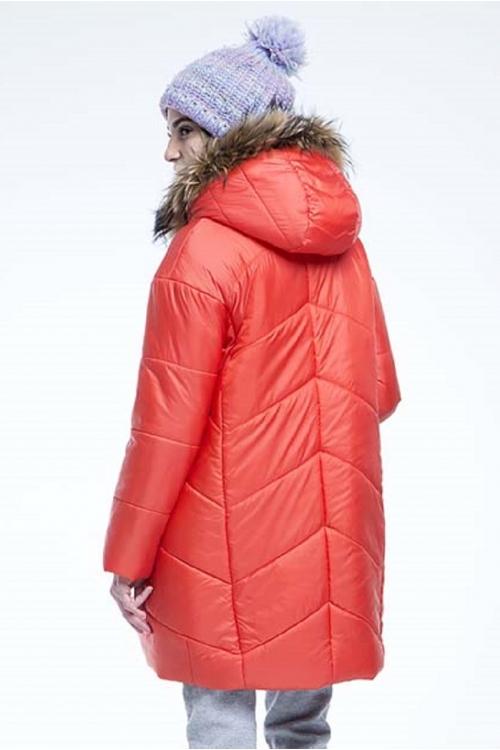 Куртка NIKA оранжевый ТМ ENCHARM maternity