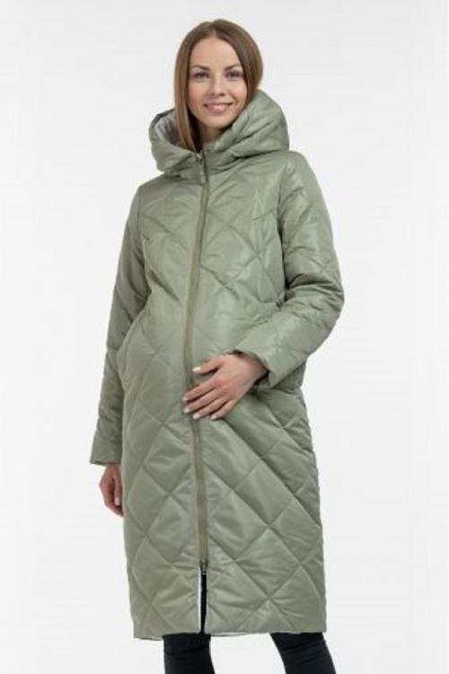 Зимнее пальто SOFIYA  фисташка